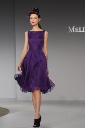 Melissa Sweet - MS405 - LOVE this bridesmaid dress!