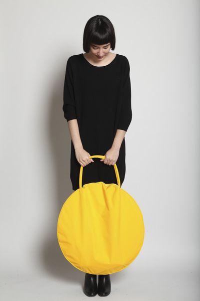 Totokaelo - Draft Nº 17 by Jasmin Shokrian - Compass Bag Taslan - Yellow