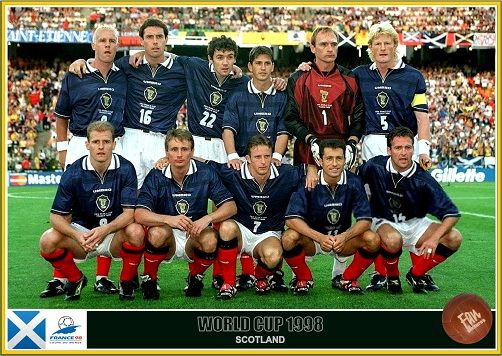 Fan Pictures 1998 Fifa World Cup France Scotland Team Fifa World Cup France World Cup Teams World Cup