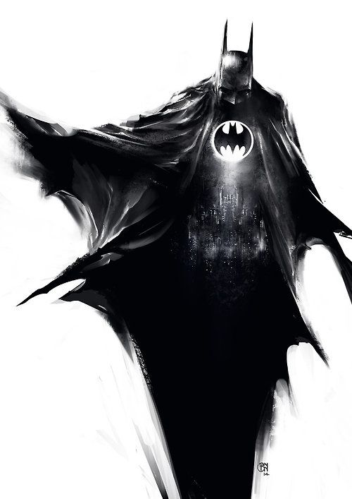 Batman by Benny Kusnoto