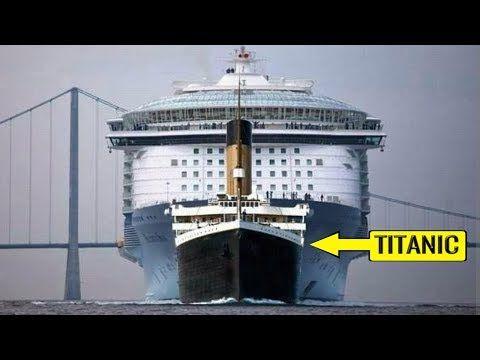 Los Cruceros Más Grandes Y Espectaculares Del Mundo Youtube Rms Titanic Crucero Cruceros
