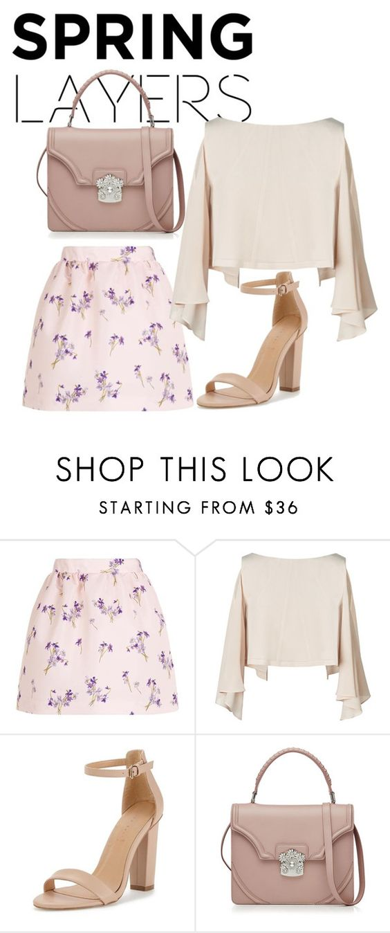 """""""Outfit"""" by meloprea ❤ liked on Polyvore featuring RED Valentino and Alexander McQueen"""