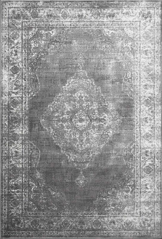 Alexia Tufted Grey Silver Rug Persian
