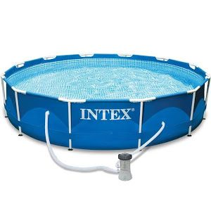 Intex 12 X 30 Metal Frame Pool Intex Above Ground Swimming Pools Swimming Pools