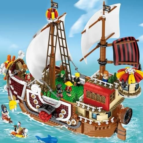 Building Blocks New Technic Series Racing Yacht fit boat Yacht toys gift