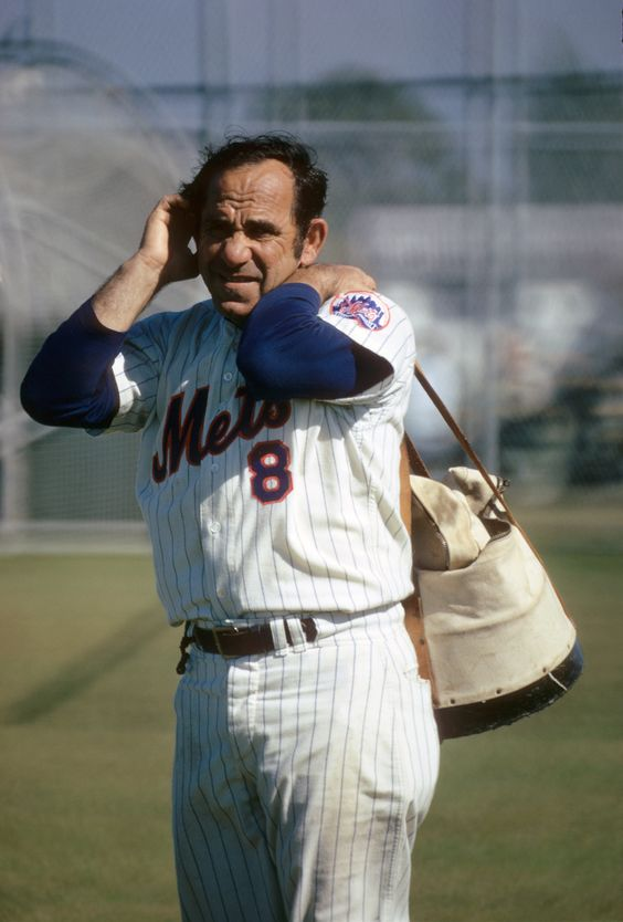 Yogi Berra at Spring Training