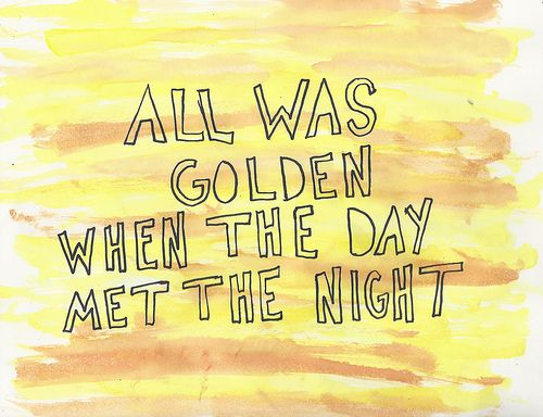 When the Day Met the Night -Panic! at the Disco