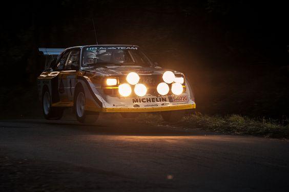 Iespējam uzskates materiāls scenogrāfijai vai kādiem citiem prezentācijas elementiem. Kopumā man patīk arī sajūta šajā bildē. Audi Quattro S1 Rallye