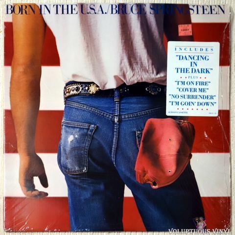Bruce Springsteen Born In The U S A 1984 Bruce Springsteen Dancing In The Dark Vinyl Music