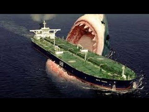 Megalodon Shark Attacks Ship 2015 / Megalodon Evidence/