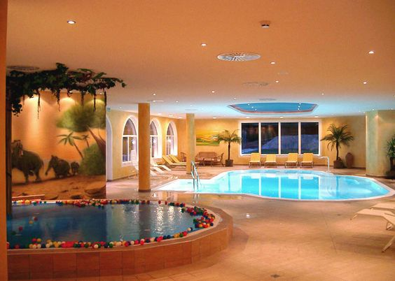 Pinterest the world s catalog of ideas for Basement swimming pool ideas