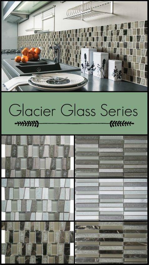 Glacier Glass Tile Stone Tiles Glass Tile Glass