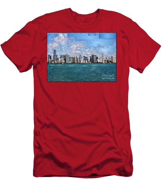 Men's T-Shirt (Slim Fit) - Miami, Florida