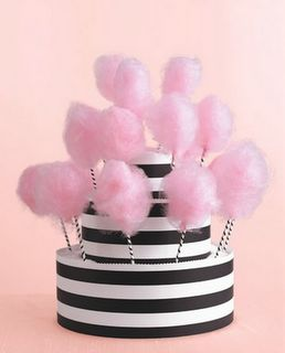 cotton candy, party, circus, cotton, candy, fair, hat box, black and white, party food, dessert, kids party,