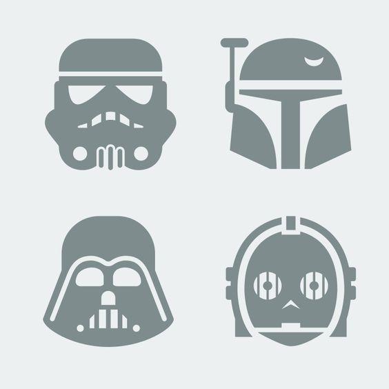 Sellos Guerra de las Galaxias   -   Star War stamps