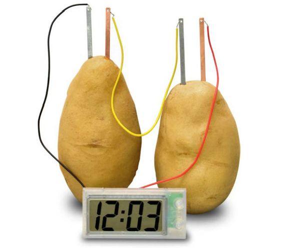 potato clock
