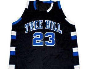 NATHAN SCOTT #23 ONE TREE HILL RAVENS JERSEY BLACK