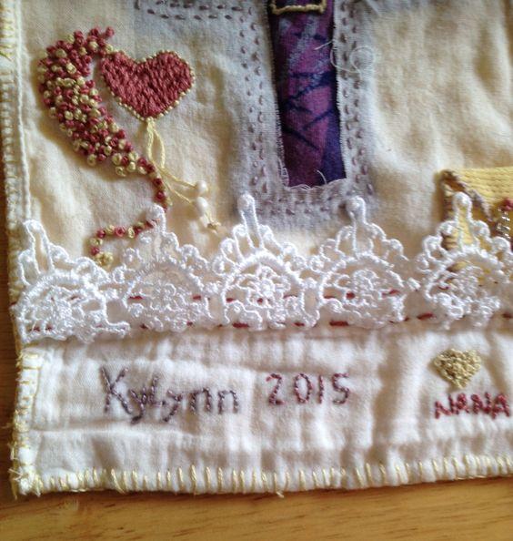 KyLynn's prayer cloth Nana