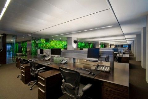 Image Of Open Plan Office Design