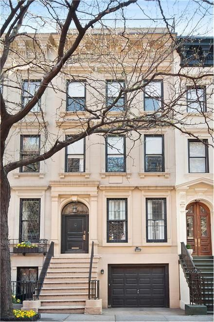 Nyc townhouse with garage dream houses and homes for Manhattan house apartments for sale