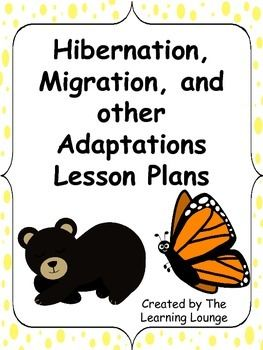 hibernation migration and adaptation lesson plans to be survival and the winter. Black Bedroom Furniture Sets. Home Design Ideas