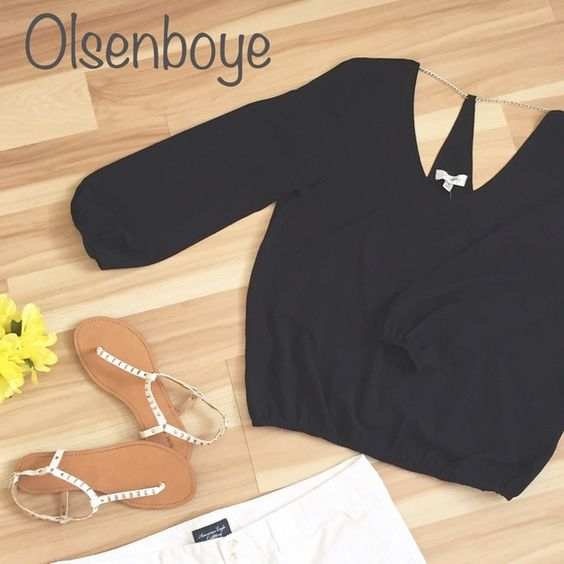 ❗️FLASH SALE❗️Olsenboye Adorable Olsenboye shirt, brand new with tags! Size: Small 98% polyester & 2% spandex. Olsenboye Tops Blouses