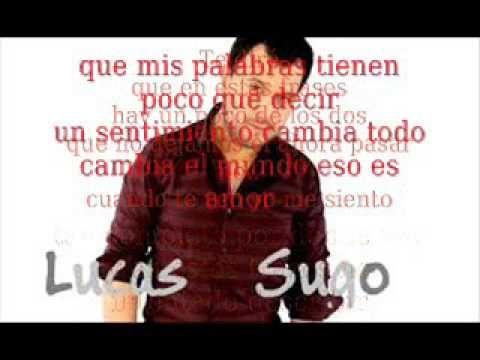 Lucas Sugo En La Linea Del Tiempo Lyric Youtube Lyrics Lucas Vida