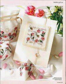 ♥Meus Gráficos De Ponto Cruz♥: Mini Rosas em Ponto Cruz