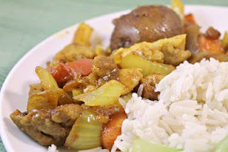 Curry Clay Pot Chicken
