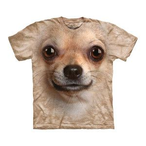Chihuahua Face Tee now featured on Fab.  These are HYSTERICAL!