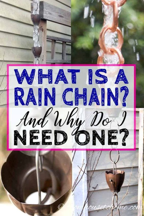 Rain Chains Everything You Ve Ever Wanted To Know Gardening From House To Home Rain Chain Installation Rain Chain Rain Chain Water Feature