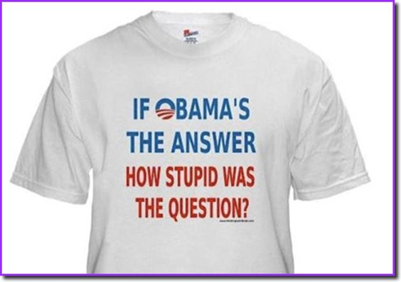 If Obama's the answer, how stupid was the question?