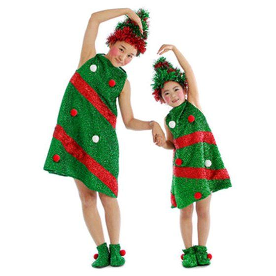 Mosunx Toddler Kids Baby Girls Christmas Clothes Costume Party Dresses Hat Socks Outfit Walmart Com