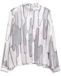 KENZO | Abstract Cactus Top |  Lyst