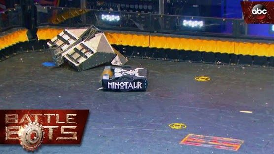 Best battle bot match ever! http://gizmodo.com/this-battlebot-fight-ends-in-flames-1783437600