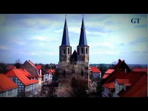 Blick aus dem Rathaus in Duderstadt