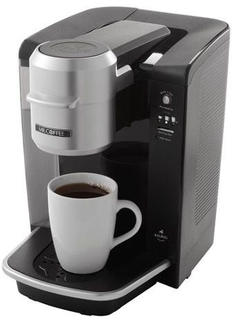 Mr. Coffee Single Serve Coffee Maker $49 (Reg $99.85) - http://couponingforfreebies.com/mr-coffee-single-serve-coffee-brewer-59-99/