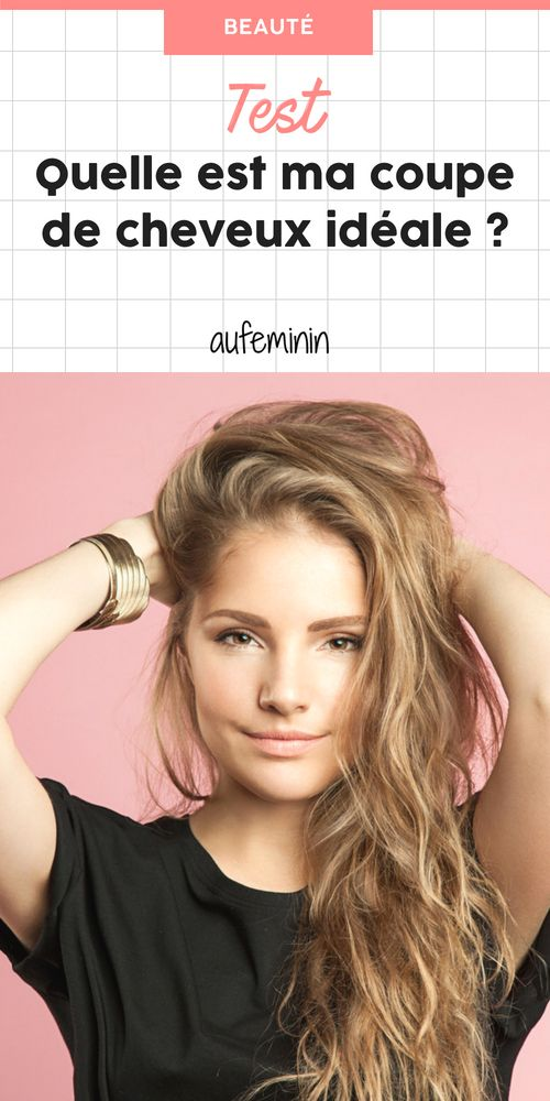 41+ Test coiffure femme des idees