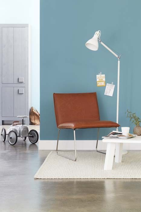 inspiratie woonkamer blauw ~ lactate for ., Deco ideeën