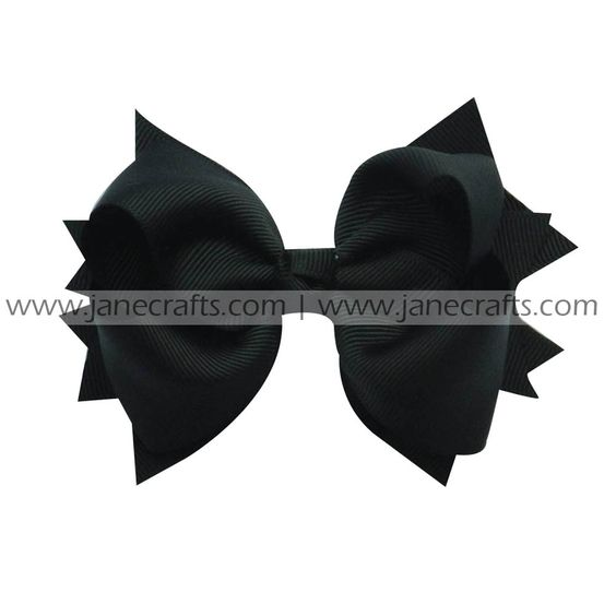 hair bow clip,spike bow clip,solid spike bow clip,bow clip,solid hair bow clip,fashionable hair bow clip,hair bow clips for girls and ladies on http://www.janecrafts.com/hair-bows-with-clip/spike-bow-clips/solid-spikes