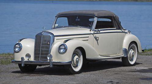 Mercedes Benz 220 A Cabrio 1953/4