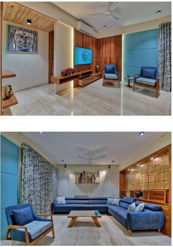 The House From Memories And Emotions Living Room Sofa Design