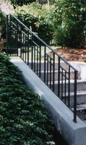 Best Iron Mission Style Trim Railing Stairs Porch Etc 400 x 300