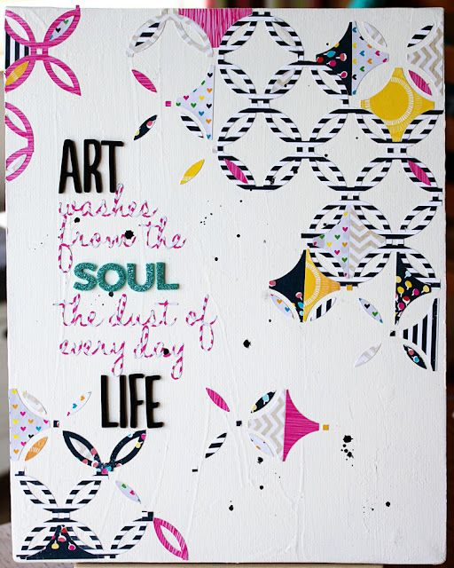 Art washes from the soul the dust of everyday life (Lilith Eeckels's scrap)
