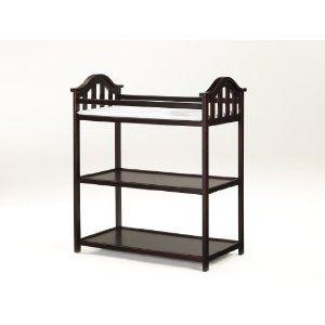 LaJobi Nursery 101 Concord Dressing Table, Cherry --- http://bizz.mx/j4o