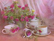 té con flores