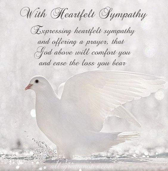Words Of Sympathy New World: FREE To Share Sympathy Card Messages