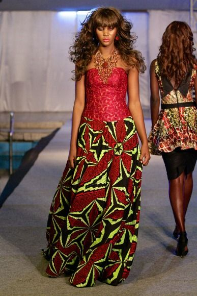 Malleni Peace, 2013 Kinshasa Fashion Week: