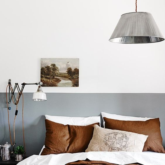 6 Reasons the Half Painted Wall Trend is a DIY-er's Best Friend — Nested Designs & Interiors
