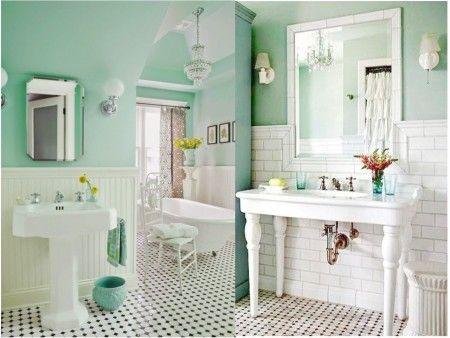 awesome apntate a la decoracin de baos vintage bathroom ideas with vintage bathroom ideas - Baos Vintage